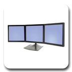 Ergotron DS100 Triple-Monitor 33-323-200