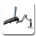 Ergotron LX Notebook Arm Desk Mount Laptop Arm