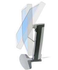Side view of Ergotron 33-329-057 Neo-Flex WideScreen Lift Stand