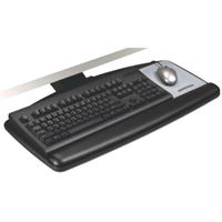 3M AKT60LE Adjustable Ergonomic Under desk Mount  Economy Keyboard Tray