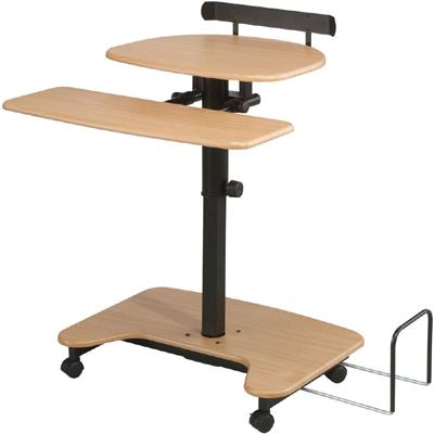 balt hihilo pneumatic adjustable stand up workstation - Stand Up Workstation