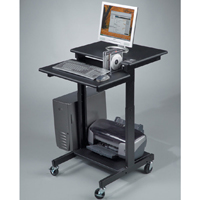Balt 85052 Height Adjustable Web AV Audio Visual Cart