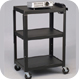 Balt 85892 Adjustable Audio Visual Utility Carts