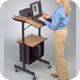 Balt 89786 Diversity Stand - Mobile Lectern, Projection Station