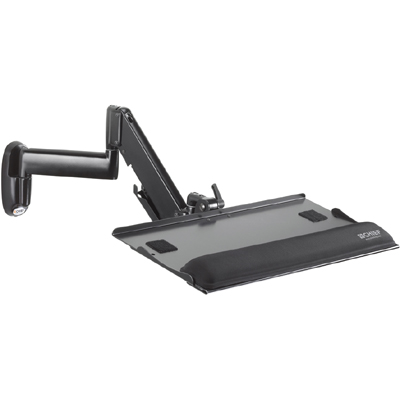 Chief Kwk110b Height Adjustable Keyboard Amp Mouse Tray Wall