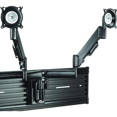 Chief Ksy220b Height Adjustable Dual Monitor Arm Slat Wall