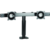 Chief KTC220B or KTC220S Flat Panel Dual Horizontal Desk Clamp up to 35 lbs LCD Mount Arm