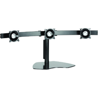 Chief KTP320B or KTP320S Triple Table Stand Flat Panel Horizontal LED Monitor Mounts
