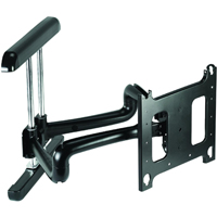 Chief PDRUB or PDRUS Wall Mount Universal Flat Panel Dual Swing Arm 42 to 71 inch Displays