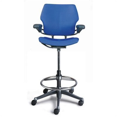 High Office Chairs On Humanscale Freedom Ergonomic Drafting Leather Chair