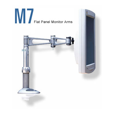 Humanscale m7 led monitor arm build your own desk wall mount for Build your own wall mounted desk