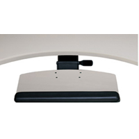 Humanscale 800 Radiused Single Mouse or Dual Mouse Keyboard Tray Platform