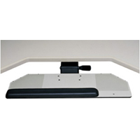 Humanscale 400 Diagonal Big Board Keyboard Tray System