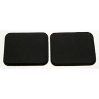 Kinesis AC005PPblk Replacement Palm Pads for the Contoured keyboard Black