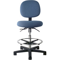 Office Master EF45 Electrostatic Discharge ESD High Drafting Stool Ergonomic Chair