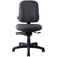Office Master EV74 Electrostatic Discharge ESD Mid Back Sized Ergonomic Office Task Chair