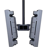 Peerless PLB1 Plasma and LCD Dual Screen Back to Back PLA Ceiling Mounts without Adpater PLB-1