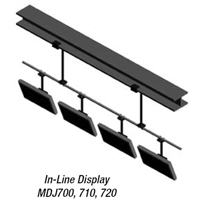 Peerless MDJ-700 Flat Panel IN-LINE 120 inch LCD LED Ceiling Mount MDJ700