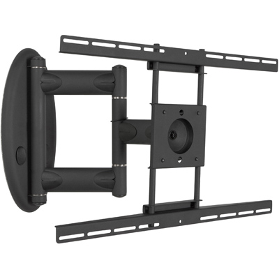 premier am80 articulating tv swing out wall mount arm up to 47 flat panel display. Black Bedroom Furniture Sets. Home Design Ideas
