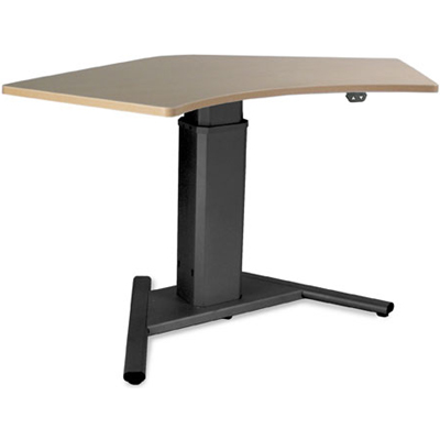 SIS Move Or Electric Single Surface Degree VBase - Electrically driven adjustable table legs