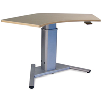 SIS Move Spring Single Surface 120 degree V-Base Height Adjustable Table / Desk