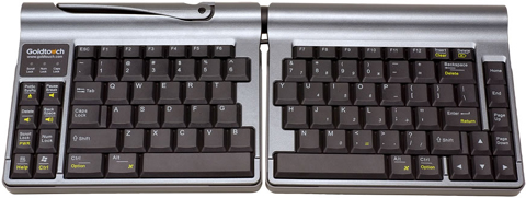 Goldtouch GTP-0055 Go Travel Adjustable Ergonomic Keyboard