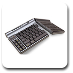 Goldtouch GTP-0055 Go Travel Adjustable Ergonomic Keyboard Silver GTP0055