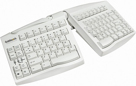 Goldtouch GTN-0033 Adjustable Split PS2 Ergonomic Keyboard