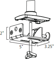 MA4000 Grommet/Bolt-Through Mount