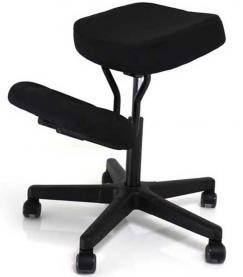 Jobri f1442 better posture solace ergonomic kneeling chair for Chaise ergonomique assis genoux
