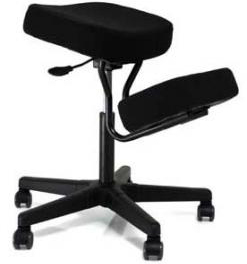 Jobri F1445 Solace Plus Ergonomic Height Adjustment Kneeling Chair Seating