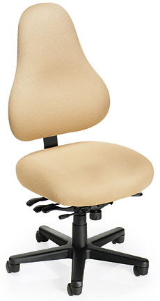 Office Master EVDB78 Electrostatic Discharge ESD Ergonomic Adjustable Chairs