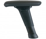 Office Master JR-50 Group 4 Forward Slanting T Arms with Ergonomic, Maximum Mobility Arm Top
