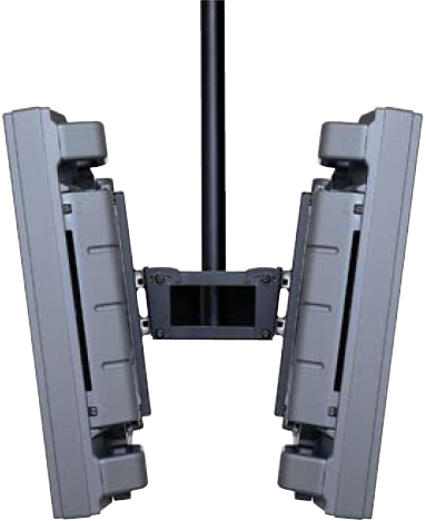 Peerless PLB-1 Flat Panel Dual Screen Ceiling Mounts for 30 to 50 inch Plasmas and LCDs