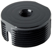 Peerless ACC810 Threaded Rod Adapter for Projectors Black