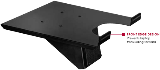 Peerless ACC328 Notebook Tray for LCT-A1B1C/H and LCT-A1B4C/H Desk Mount