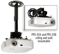 PRS-EXA and PRS-EXB Ceiling and Wall Mounts