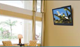 Peerless SUT645P Universal Ultra-thin Tilt Wall Mount application