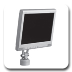 Peerless LCV-100 LCD Vertical Desktop Mount