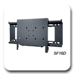 Peerless SF16D and SF24D Dedicated Flat Wall Mounts SF-16D and SF-24D