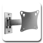 Peerless SP730P Pivot Wall Mount for 10-22-inch LCD Screens SP-730P