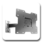 Peerless SP740P Pivot Wall Mount Arm for LCD Screens SP-740P