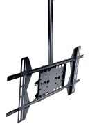 PLCM-UN1 Straight Column Flat Panel Universal Ceiling mount for Portrait or Landscape Mounting for 32 to 50 inch