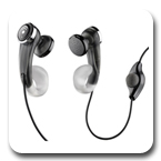 Plantronics MX203S-X1S Stereo Mobile Headset, Black MX203SX1S