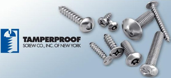 Tamperproof Screws
