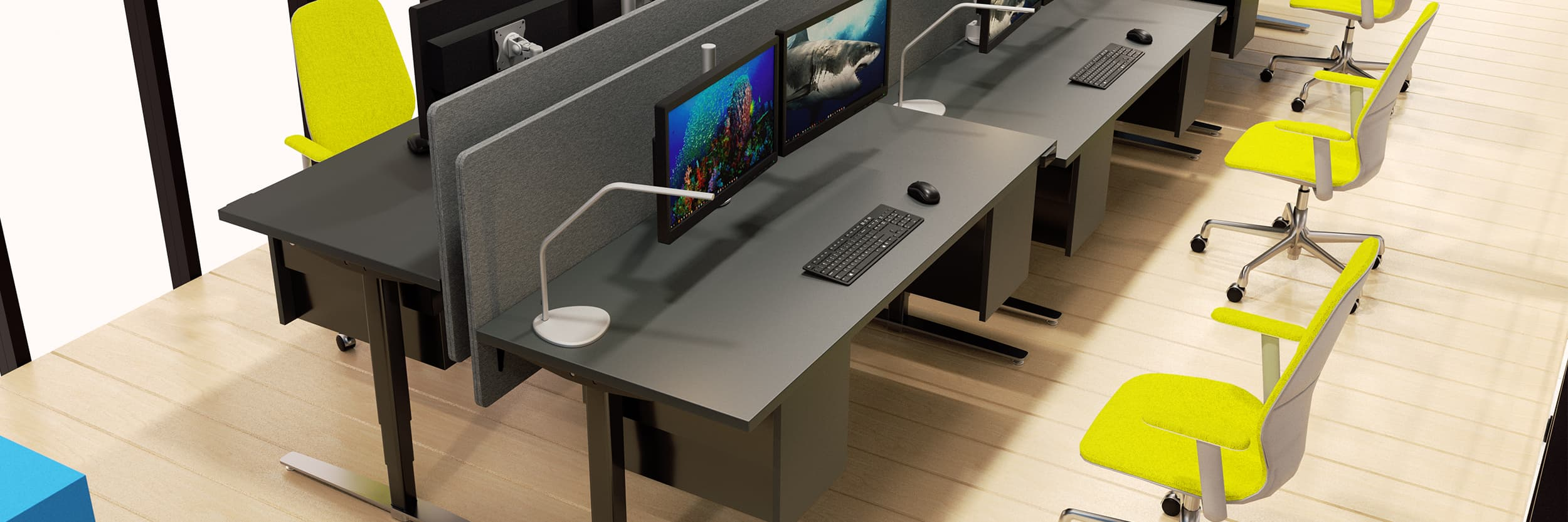 Corporate Office - Sit-Stand Desks