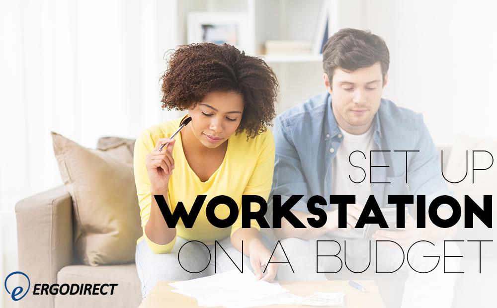 Stand Up Workstation On A Budget Ergodirect Blog