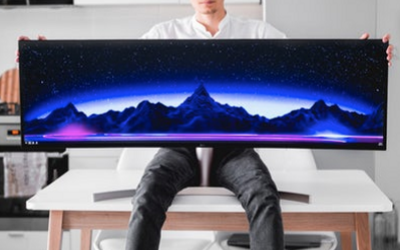 How to mount ultrawide monitors