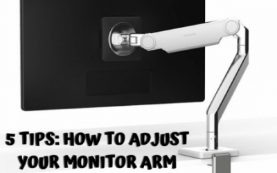 How To Adjust Your Monitor Arm
