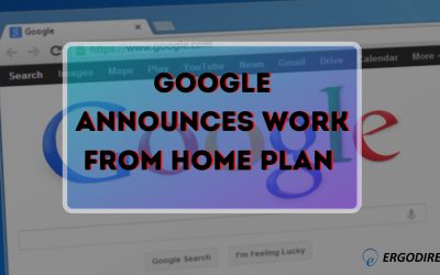 Google Announces Work from Home Plan